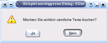 Shell Scripting with KDE Dialogs de-warningyesno dlg.png