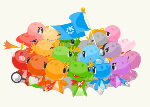 Konqi and the KDE community